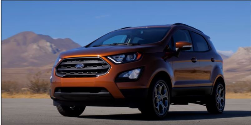 2018 Ford Ecosport Review And Specs >> 2018 Ford Ecosport Facelift Model Complete Review Video Specs