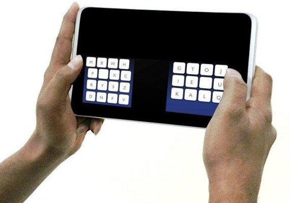 The new KALQ keyboard (credit: MPI for Informatics)