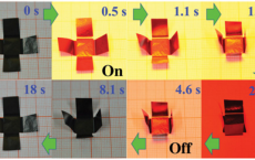 Graphene 'Paper' Acts Like Animated Origami