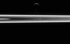 Cassini Spacecraft Captured Watery World In Space