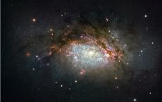 Galactic Mega-Merge NGC 3597