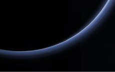 Blue Haze Layers On Pluto's Atmosphere