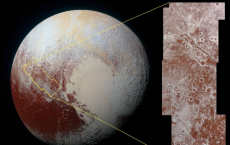 Pluto: High Resolution Image