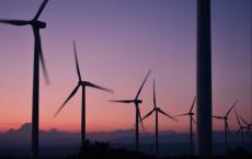 Wind Turbines At Work