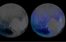 Widespread Water Ice On Pluto