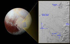 Pluto's Water Hills Float Around In Sea Of Nitrogen