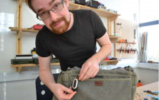 Researcher Attaches New Alarm To A Bag