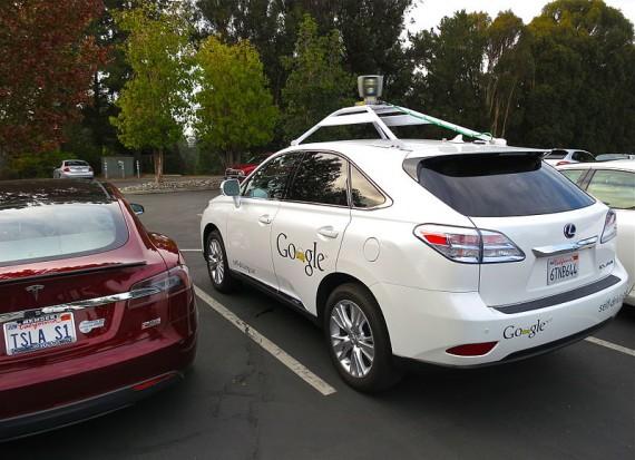 Autonomous car via