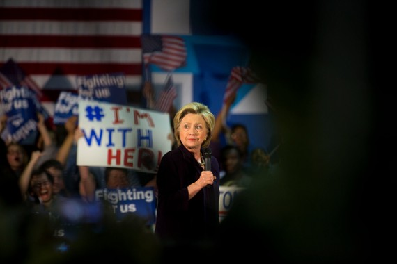 Hillary Clinton Holds Campaign Event In New Jersey