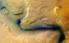 The European Space Agency Release Images Of Mars