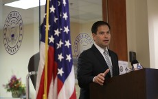 Sen. Marco Rubio (R-FL) Holds News Conference To Urge Congress To Pass Zika Virus Funding Credit: Joe Raedle / Staff