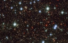 Scattered stars in Sagittarius.