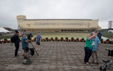 Creationist Builds Large Scale Noah's Ark In Northern Kentucky