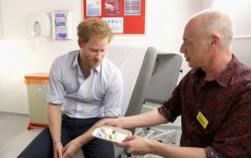 Prince Harry Attends An Event To Promote HIV Testing