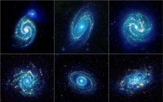 Discovery of a shockingly old Spiral Galaxy shock Astronauts