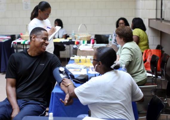 Newark Offers Free Health Screenings For Homeless