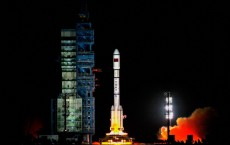 China's First Space Laboratory Module Tiangong-1