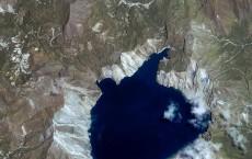 Satellite Photo Of Mt. Pinatubo