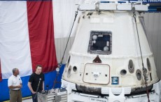 SpaceX Dragon return to Earth from the International Space Station