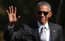 President Obama Returns To The White House