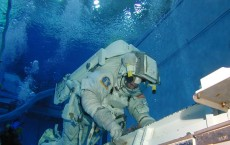NASA Neutral Buoyancy Laboratory Astronaut Training