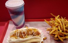 Hot Dog, Fries, and Shake