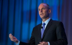 Boeing CEO, Dennis Muilenburg talks about the space race to the surface of Mars with rival SpaceX