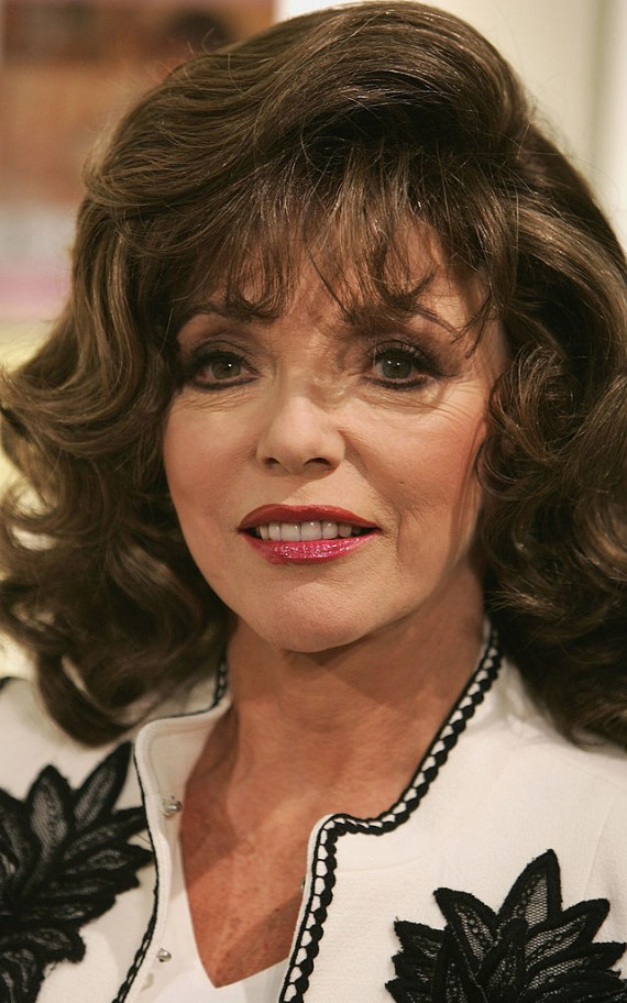 Joan Collins Launches An Anti-ageing Cream At Harvey Nichols, Knightsbridge