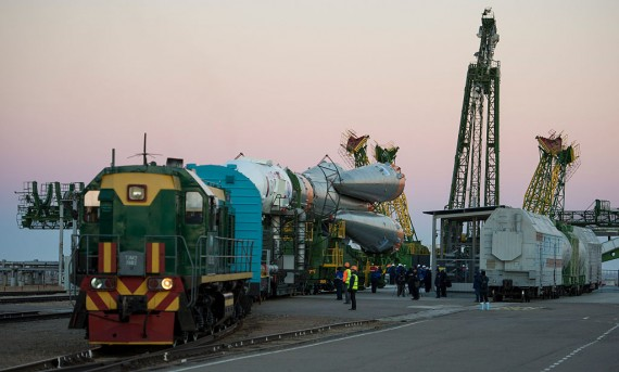 The Soyuz MS-02 spacecraft to be launched on 19 october 2016