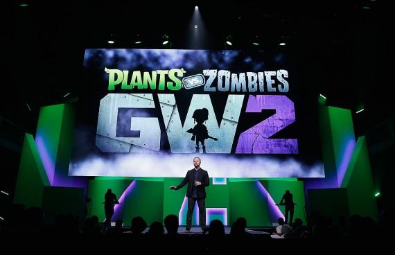 Plants Vs Zombies Heros: Garden Warfare meets Hearthstone