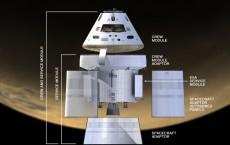 orion spaceship esa nasa astrium
