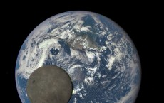 Far Side Of the Moon PIctured Orbiting Earth