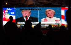 West Hollywood Bar Holds Presidential Debate Watch Party