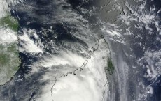 NASA Sees Cyclone Giovanna Centered Over Madagascar