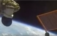 UFO spotted on ISS footage