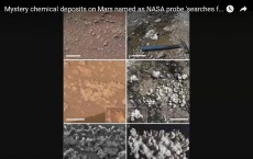 Mystery Chemical Deposits On Mars Named As NASA Probe 'Searches For Ancient Life'