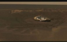 UFO Seen Flying On Mars Near The Opportunity Rover Landing Site? (Mars Mysteries)