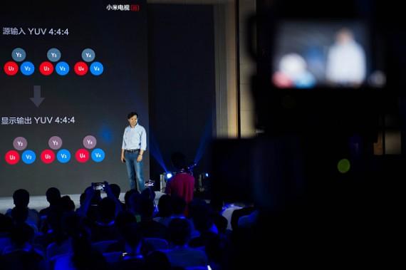 Xiao Mi Launches Smart UHD TVs In Beijing