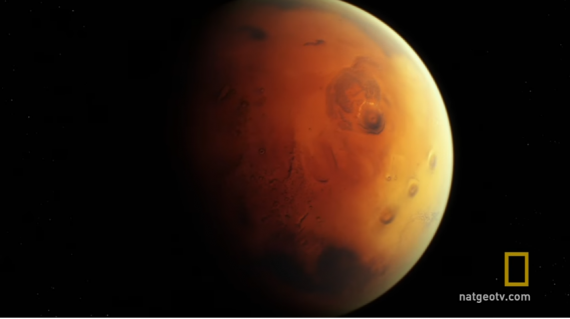"""Mars"" On National Geographic Channel"