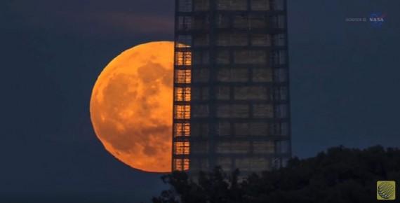 NASA: Watch The Rare Supermoon
