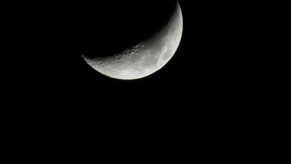The Waxing Crescent Moon