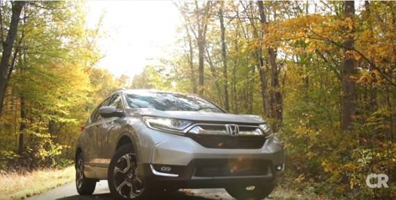 2017 Honda CR-V Touring First Drive