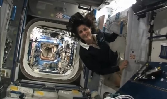 International Space Station: Live Inside Space Station Viewing Sunita William Space Journey Tour