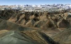 Western Tibet (Xizang) Scenic Landscape