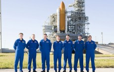 Endeavour Astronauts Take Part In News Conference Ahead Of Launch