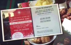 Free Christmas Meal For Homeless And Elderly