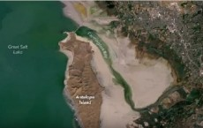 NASA Images On Utah's Great Salt Lake