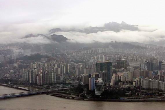 Torrential Rain And Floods Hit South Korea