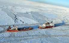 Russian Tanker Renda Delivers Fuel To Nome, Alaska