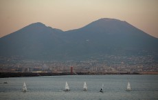 Landmarks In the Historic Southern Italian City Of Naples